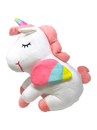 "14"" INCH SUPER SOFT UNICORN - White"