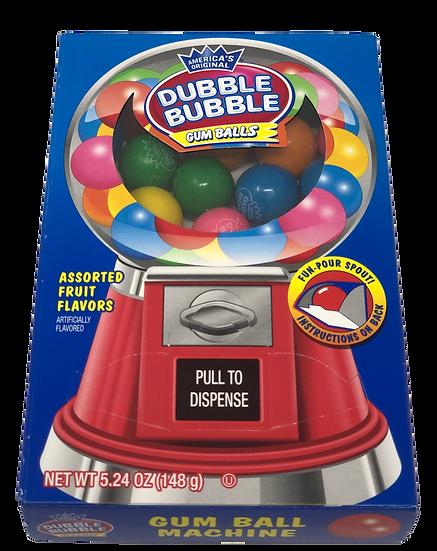 Dubble Bubble Gum Ball Machine Box