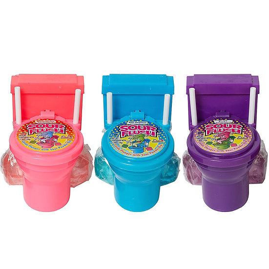 Sour Flush Dipping Candy