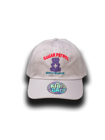 "Kids ""SUGAR PATROL HAT - White"