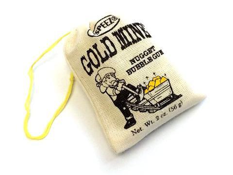 Gold Mine Nugget Bubble Gum