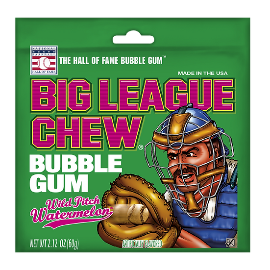 Big League Chew - Wild Pitch Watermelon