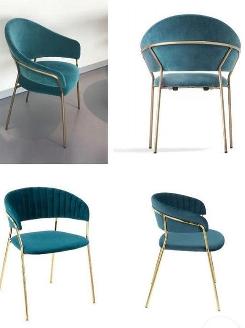 Royal Blue Designer SS Chair