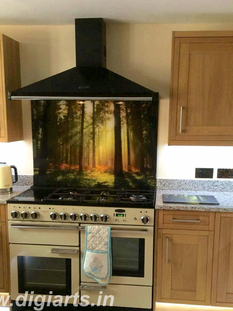 Nature Kitchen Splashback