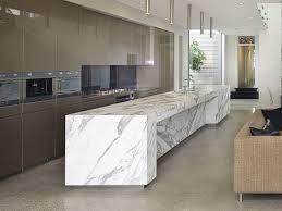 Digitally Printed Marble Kitchen