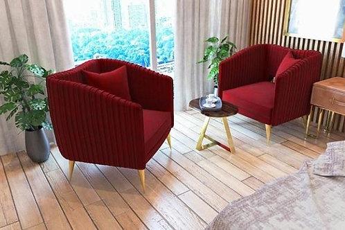 Modern SS Lounge Chair