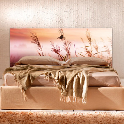 Digitally Printed Glass Wall Panel