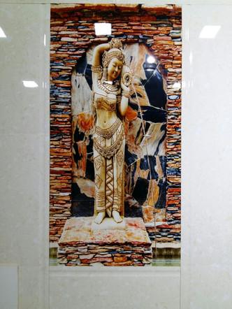 Digitally Printed Ceramic Tile