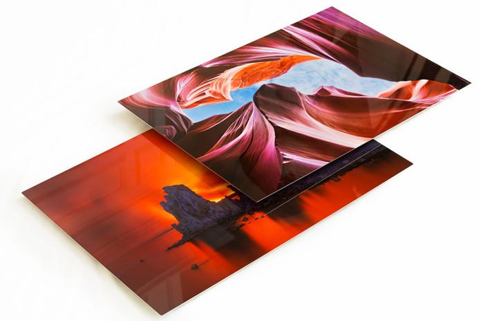 Digitally Printed Metal Prints
