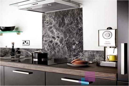 Digitally Printed Marble Kitchen Splashback