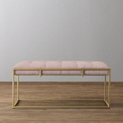 Modern Glamorous Bench