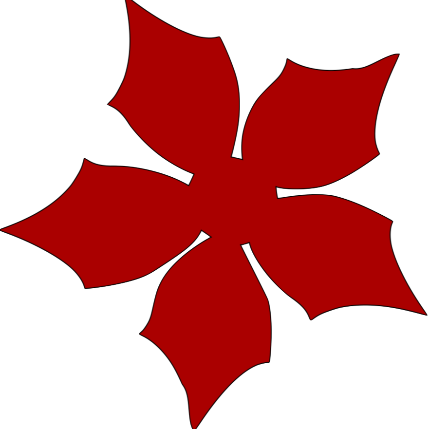 Small Poinsettia PNG by Cakes and Crafts by Kass