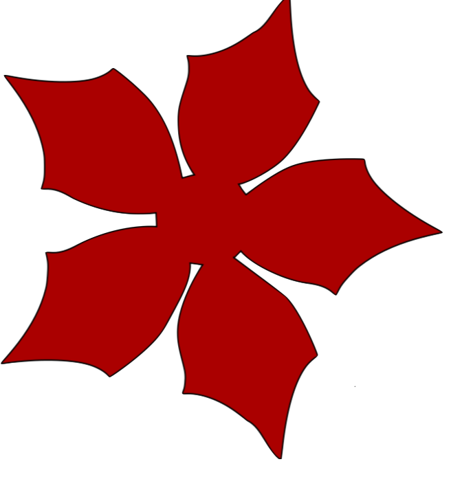 Large Poinsettia PNG by Cakes and Crafts by Kass