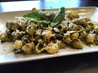 Cooking with Kids: Pesto Sauce Recipe