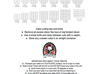 Cake Cutting Template (Free download)