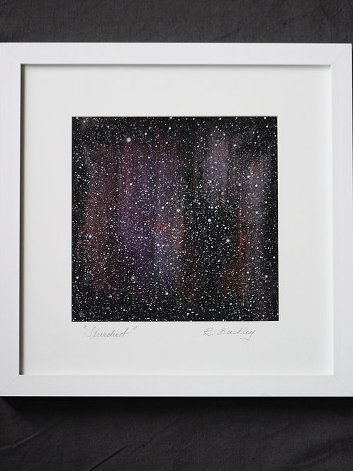 "Framed Original ""Stardust"""