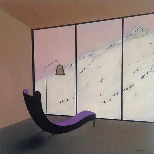 """Original oil on Canvas """"Room"""""""