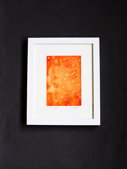 "Framed original Mixed Media ""Another Sky"""