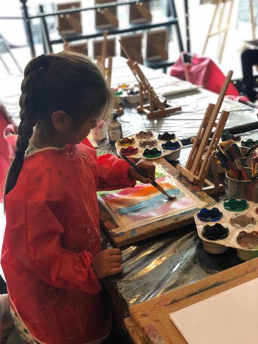 Children's Art Lesson
