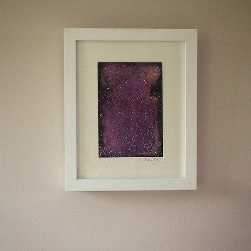 """Framed Original """"Stardance"""" - Sold"""