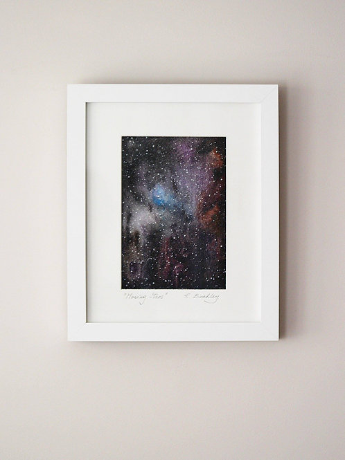 "Framed Original ""Moving Stars"" - Sold"