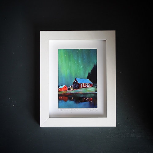 "Limited edition print ""Northern Lights"""