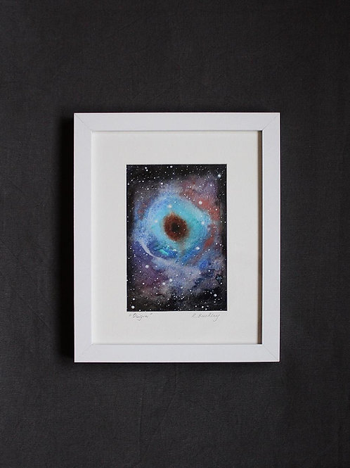 "Framed original Mixed Media ""Origin"""