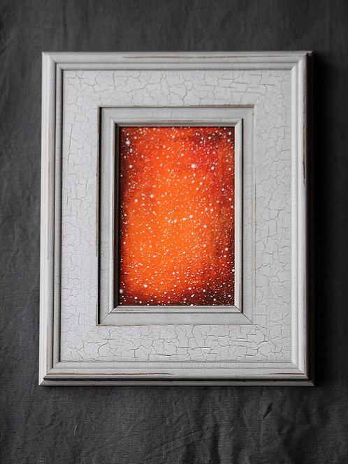 "Framed Original Mixed Media Untitled"" - Sold"