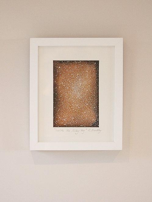 """Framed Original """"Inside the Milky Way"""" - Sold"""