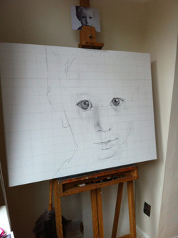 Olly outline sketch