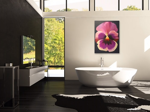 """Original oil on canvas """"Pansy"""""""