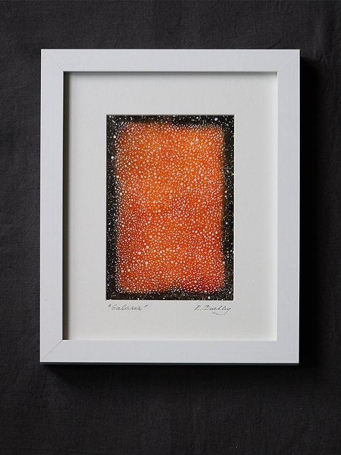 "Framed original Mixed Media ""Galaxia"""