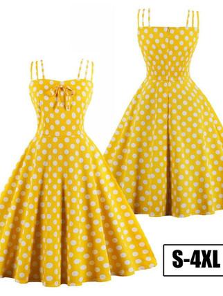 Retro Stage yellow polka dot dress.jpg