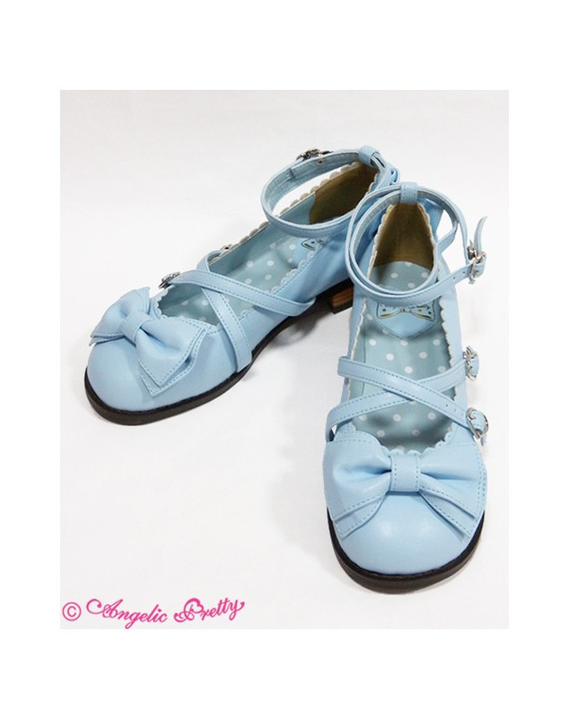 Angelic Prettry Tea Party Shoes Blue