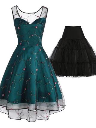 Retro Stage 1950s Mesh Swing Dress.jpg