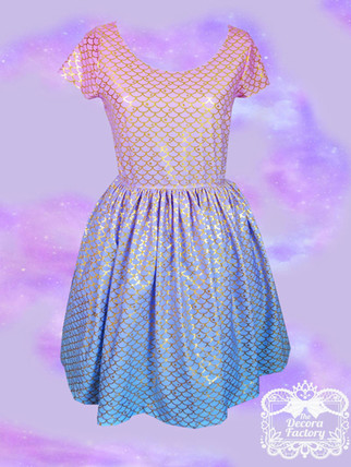 The Decora Factory Mermaid Parlous dress