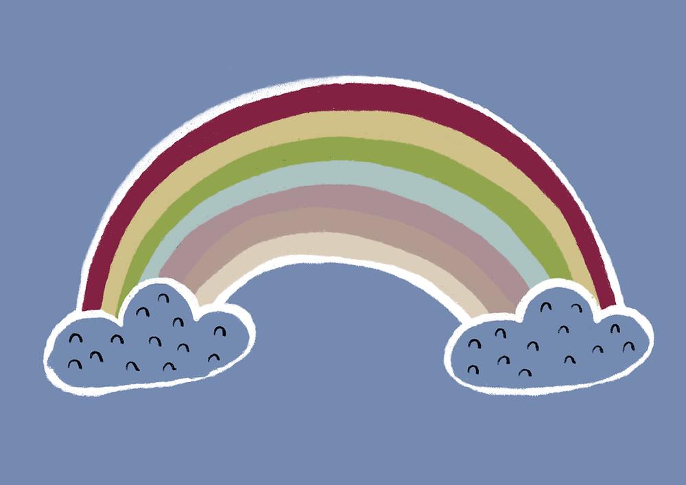 One World Together at Home, NHS Heroes, Coronavirus, Rainbow