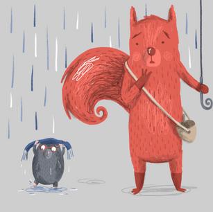 Squirrel and Mole