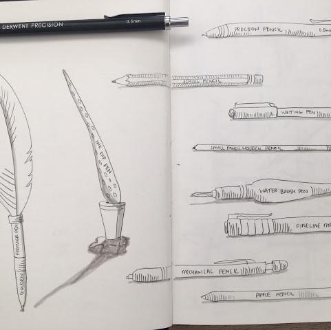 Open Sketchbooks - Autumn 2020
