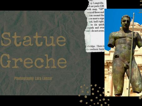 PQs  Statue Greche.