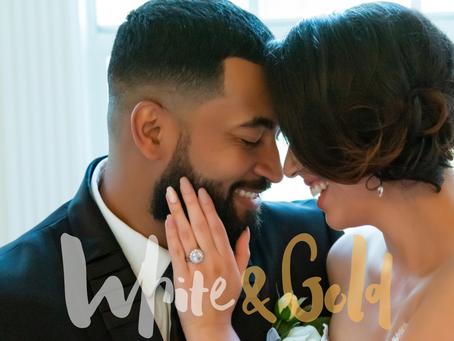 PQs White & Gold Florida Wedding.