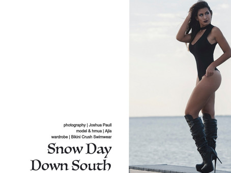 PQs Snow Day Down South.