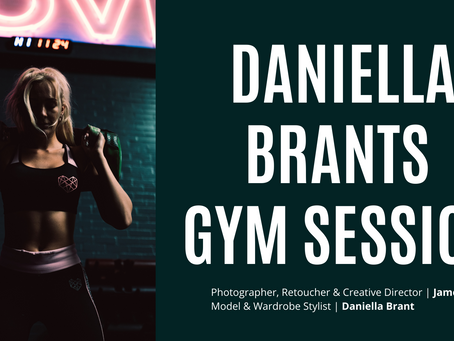 PQs Daniella Brants Gym Session.