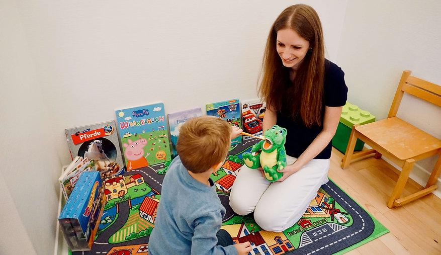 Kinderzahnärztin Zahnarztpraxis Dr. Antje Sebald Königstein im Taunus Spielecke