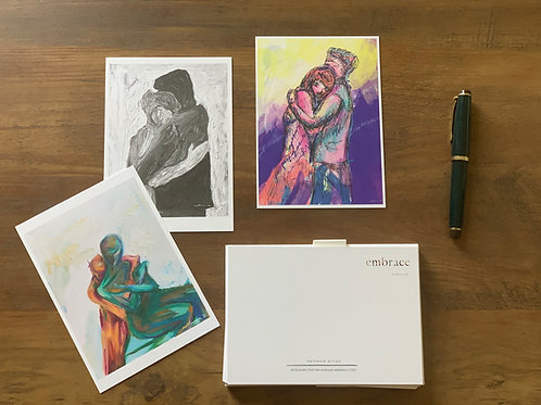 notecards - embrace exhibition