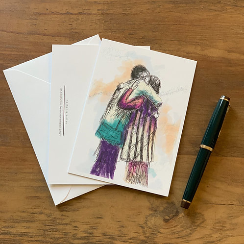 notecards, set of 6 - refuge (illustrated works)