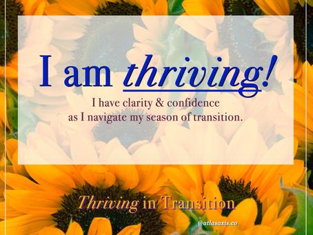 Thriving in Transition - Closing Meditation