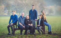 Family group photo Bakewell