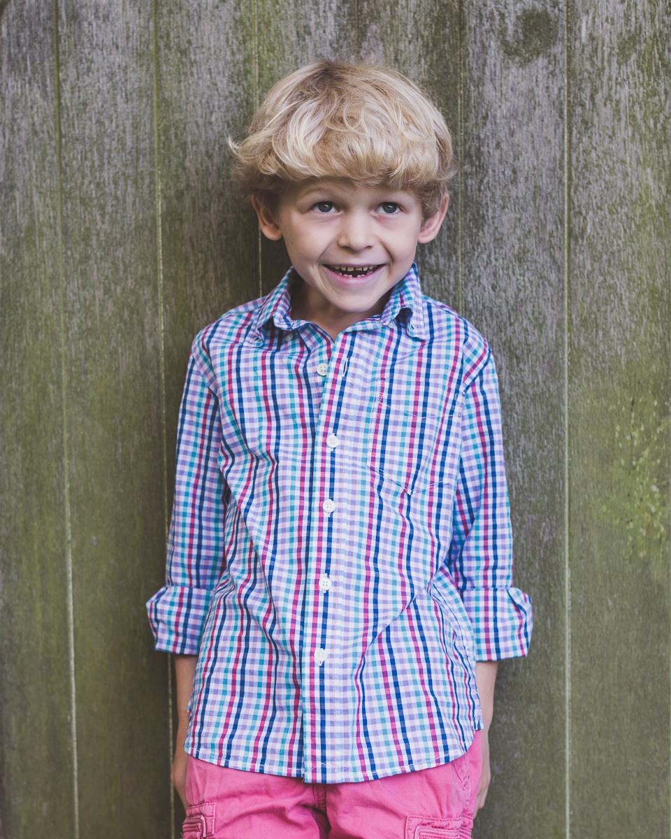 Child portrait Bakewell Derbyshire