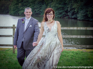 Wedding photography at Linacre Reservoir